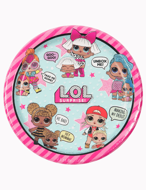 Lol Doll Party Plates (Pack of 8)