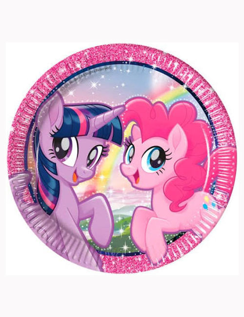 My Little Pony Plates 23xm (Pack of 8)