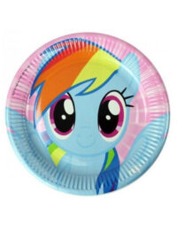 My Little Pony Plates 23cm (Pack of 8)