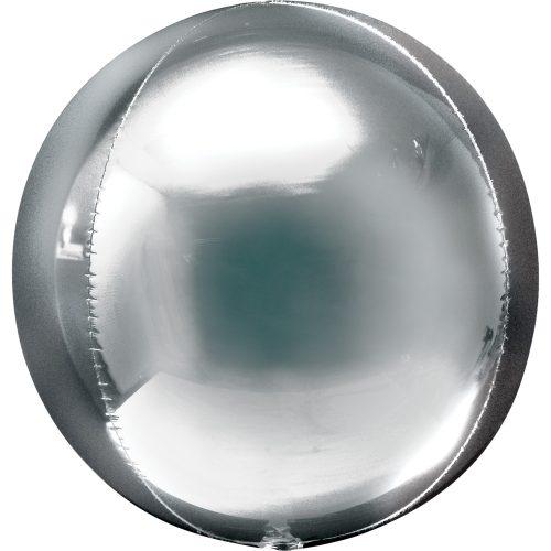 "Orbz Foil Balloon 15"" x 16"" Silver"