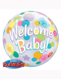 """22"""" Bubble Welcome Baby"""