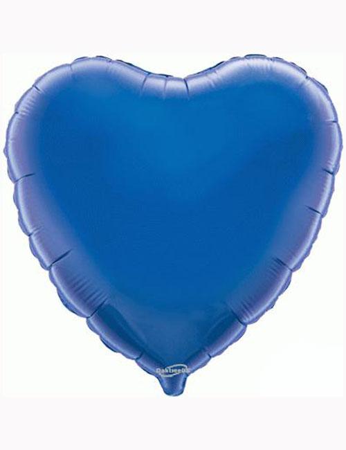"18""-Blue-Heart-Foil-Balloon"