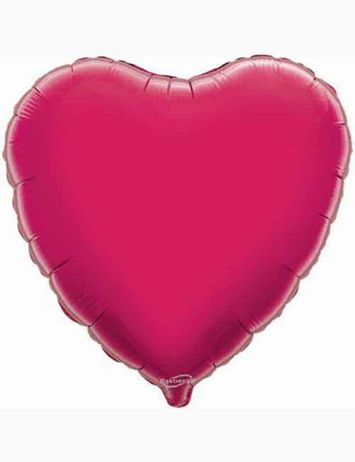 18'-Fuchsia-Heart-Foil-Balloon