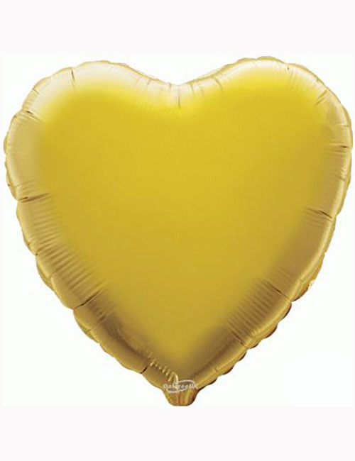 "18""-Gold-Heart-Foil-Balloon"