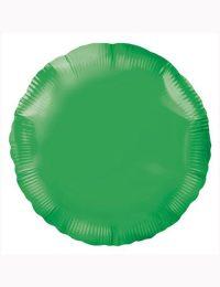 18'-Green-Round-Foil-Balloon