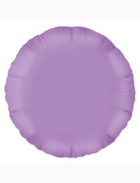 18' Lavender Round Foil Balloon