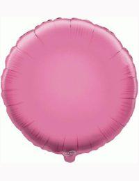 18' Pink Round Foil Balloon