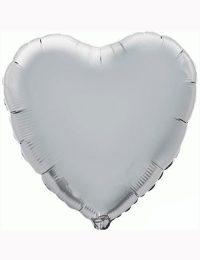 "18""-Silver-Heart-Foil-Balloon"