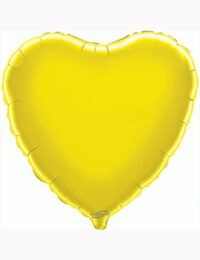 "18""-Yellow-Heart-Foil-Balloon"