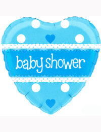 "18"" Baby Shower Blue Holographic Balloon"