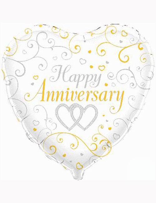 "18"" Happy Anniversary Balloon"