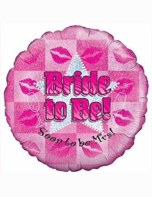 "18"" Bride to Be Balloon"