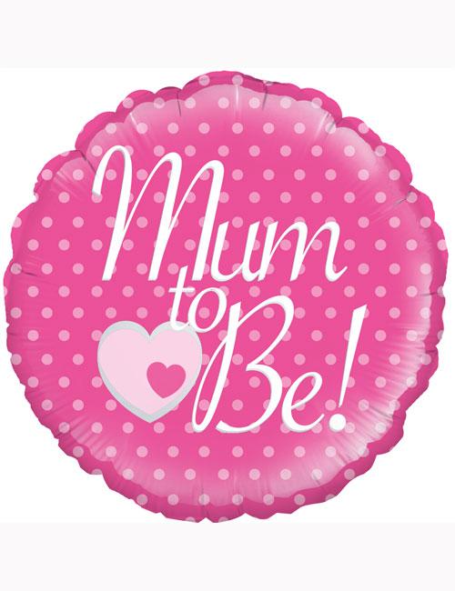 """18"""" Mum to Be Balloon"""