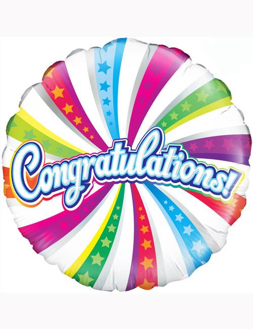 """18"""" Congratulations Balloon"""