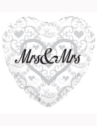 "18"" Mrs and Mrs Balloon"