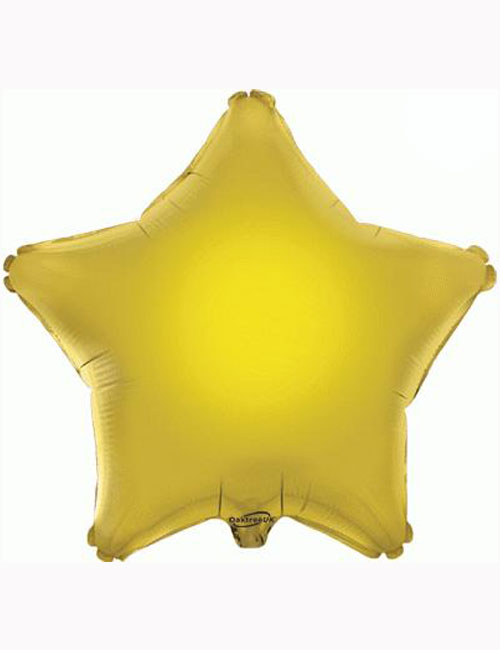 "18"" Gold Star Foil Balloon"