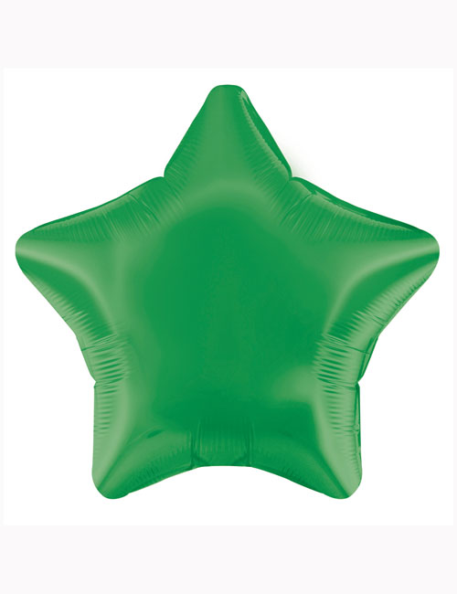 "18"" Green Star Foil Balloon"