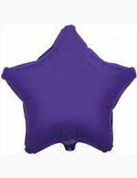 "18"" Purple Star Foil Balloon"