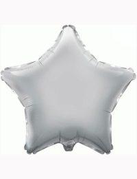 "18"" Silver Star Foil Balloon"