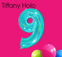 Tiffany Holographic Numbers
