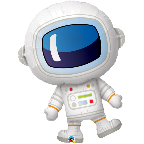 adorable astronaut shape balloon