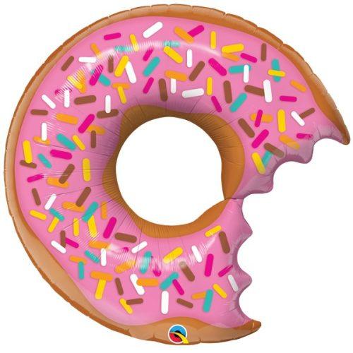 bit donut sprinkles shape balloon
