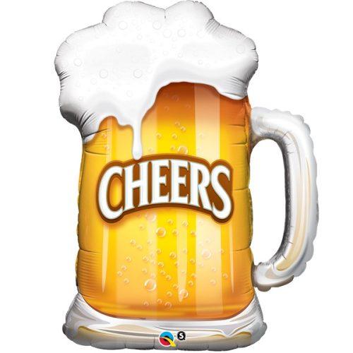 cheers beer mug shape balloon