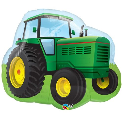farm tractor shape balloon