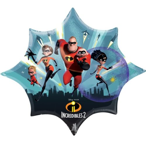 "Incredibles 2 Shape (35"" x 29"")"