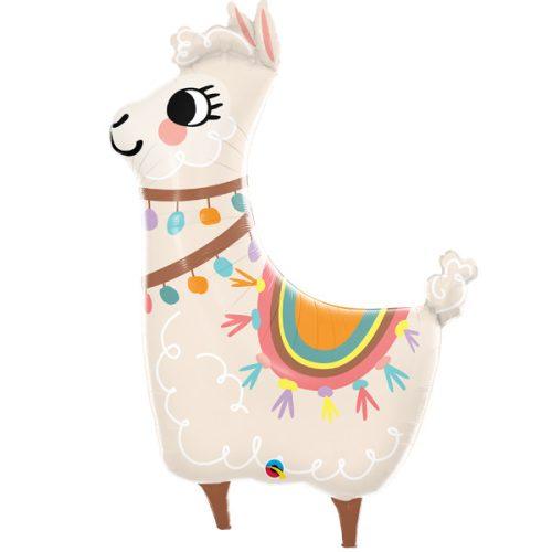 loveable llama shape Balloon