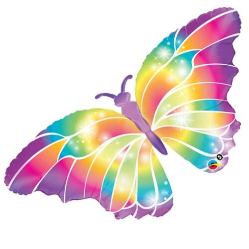 luminous butterfly shape balloon