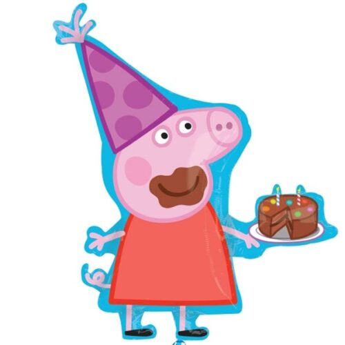 peppa pig party shape balloon