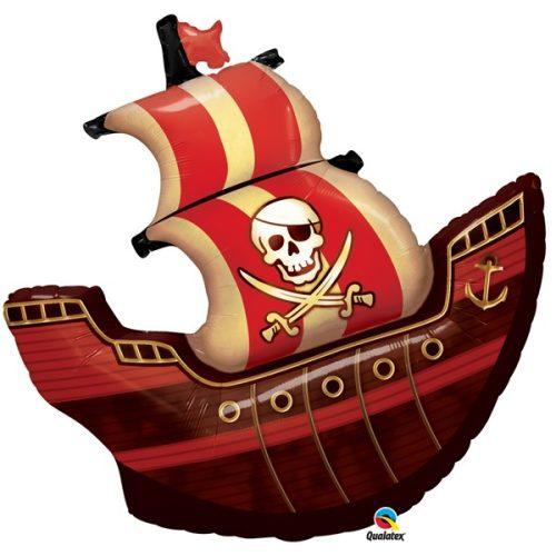 pirate ship shape balloon