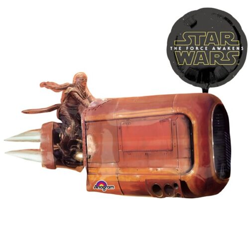 star wars episode vii- reys speeder shape
