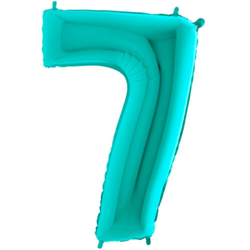 "40"" Tiffany Number 7 Foil Balloon"