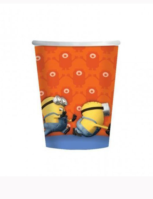 Minion Cups x 8