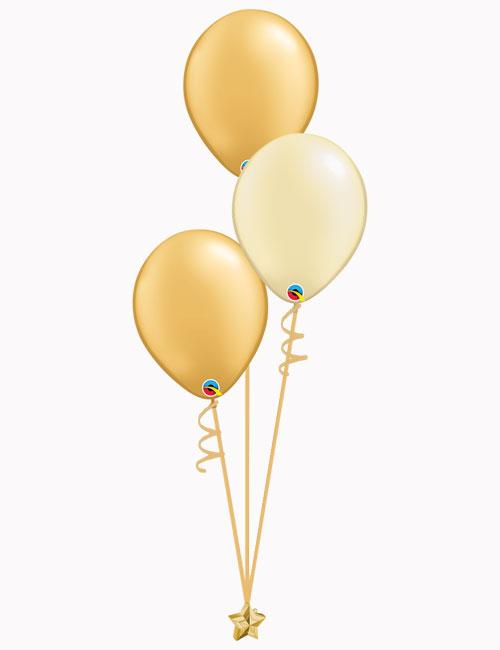 Set3 Gold Ivory Gold Latex