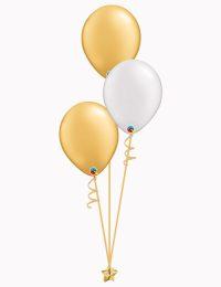 Set3 Gold White Gold Latex