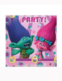 Trolls Party Napkins