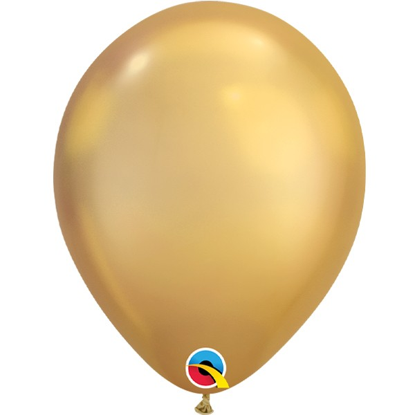 gold-11-chrome-latex-balloons