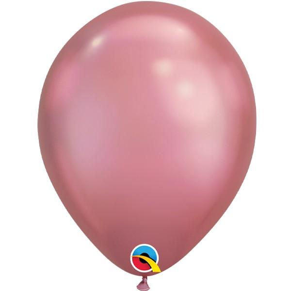mauve-11-chrome-latex-balloons