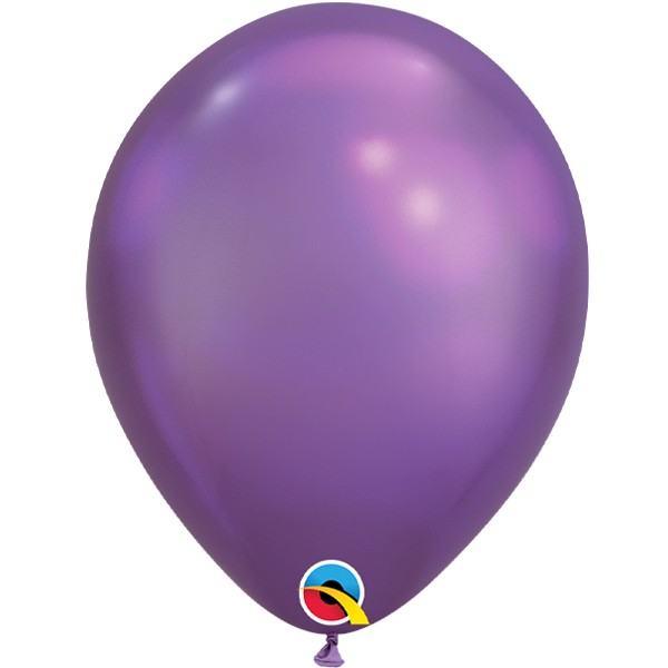 purple-11-chrome-latex-balloons