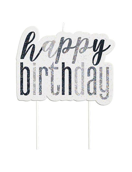Happy-Birthday-Candle-Set-Black