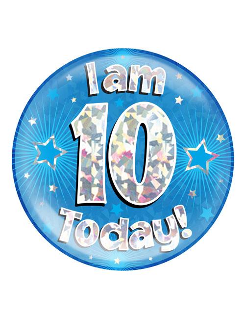 I-am-10-Badge