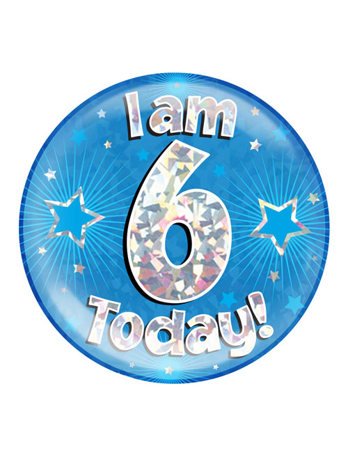 I-am-6-Badge
