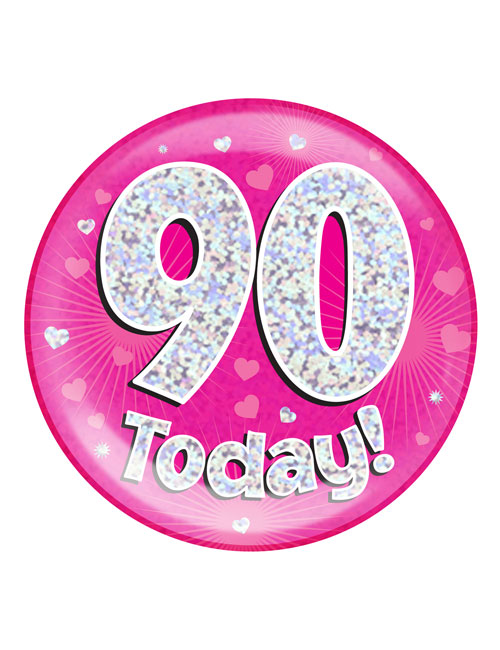 90-today-Badge-Pink