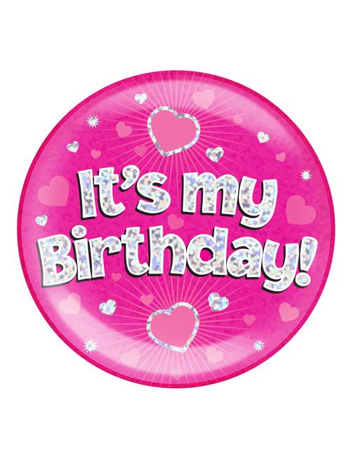 Its-my-Birthday-Badge-Pink