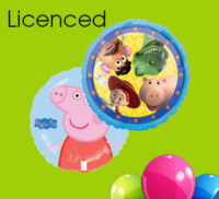 Licenced Foil Balloons