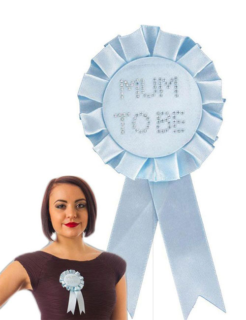 Mum-to-Be-Rosette-Blue