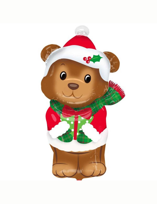 Christmas Bear Shape